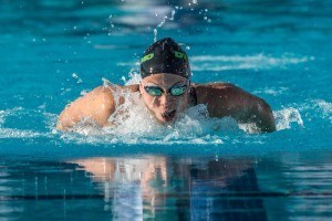 Kylie Stewart swimming