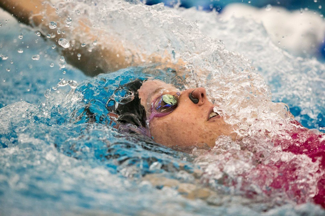 NC State's Alexia Zevnik Named ACC Most Valuable Swimmer