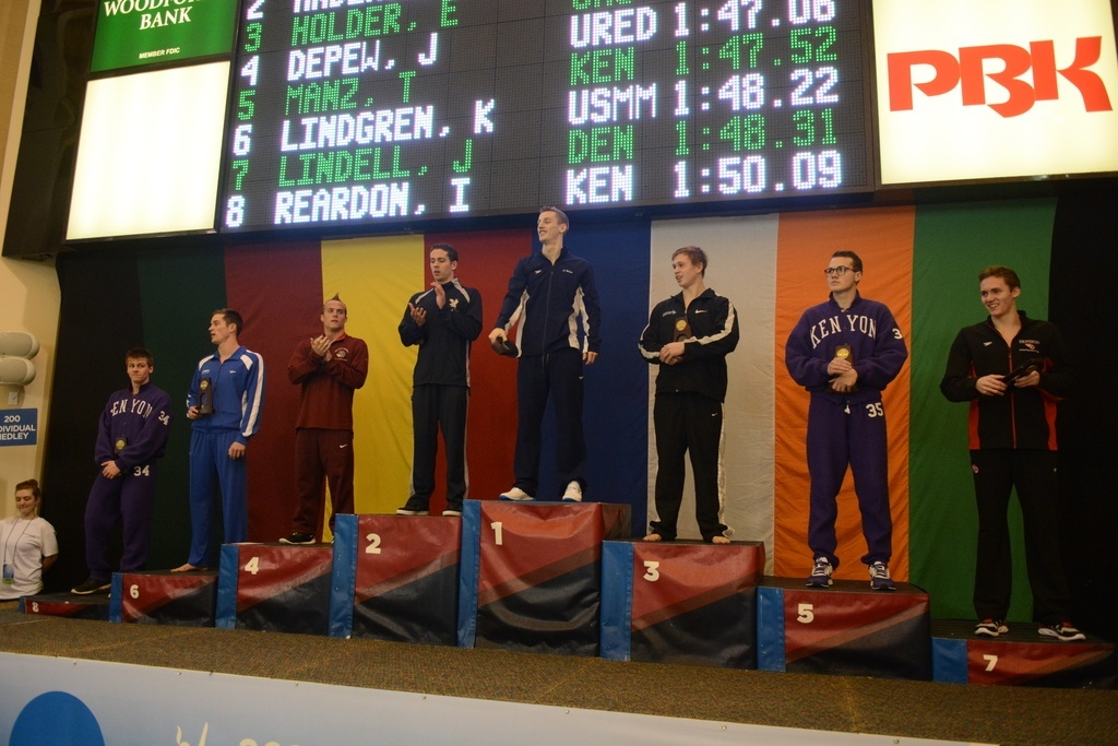 Wilson Drops D3 200 IM Record…Again