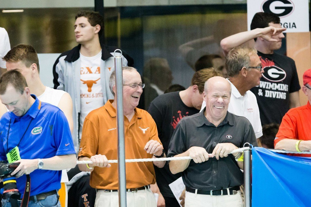 Texas Remains On Top Of CSCAA Men's Division I Poll