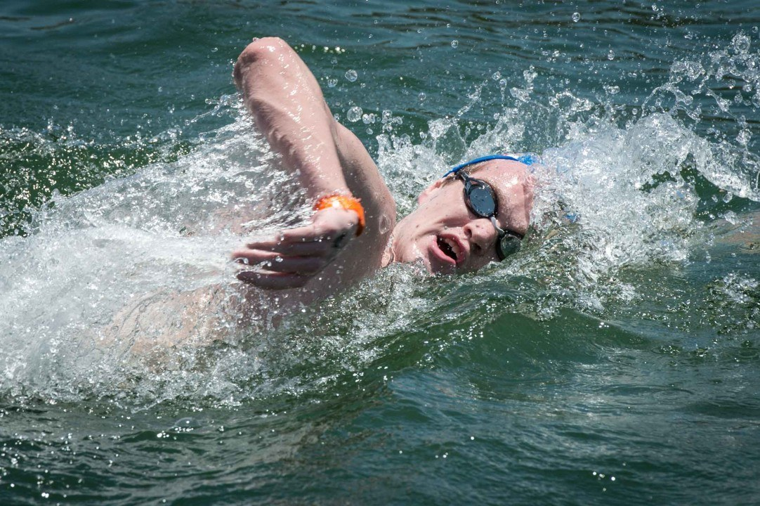 DQ'd No More: Gemmell Named 2016 10K Open Water National Champ