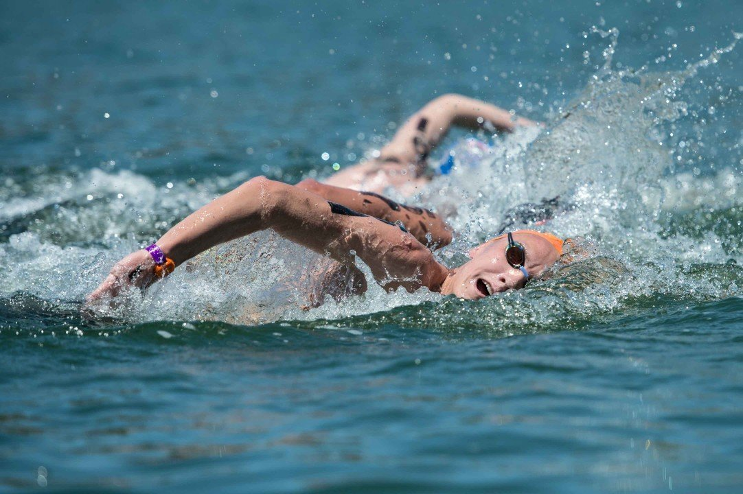 David Heron Repeats As Men's Open Water National 5K Champ