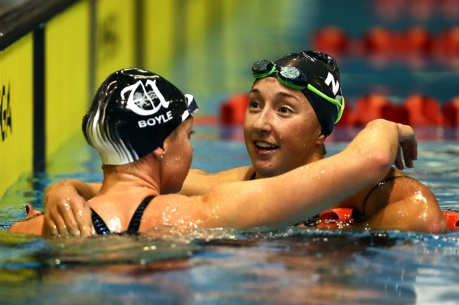 Pascoe Breaks World Record While Boyle Puts Up Top Three Performance