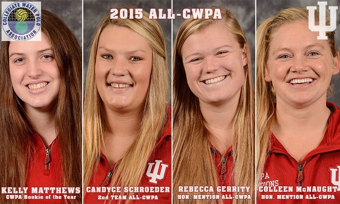 WATER POLO: Indiana's Matthews Named CWPA Rookie of the Year
