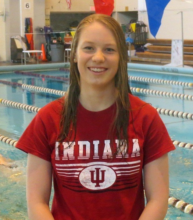 Distance Freestyler Hannah Sakaluk Verbally Commits to Indiana University