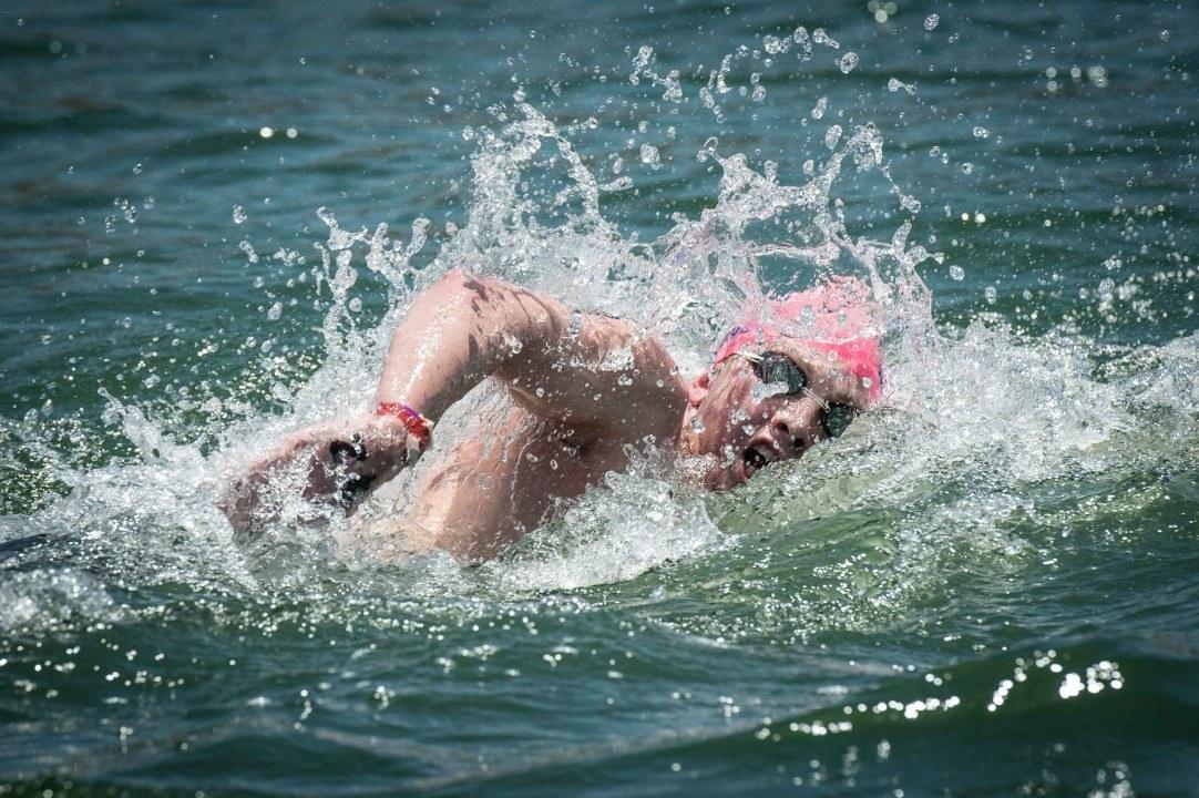 Jordan Wilimovsky Repeats As National Champion In The Men's Open Water 10K