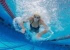 underwater swimming photograph