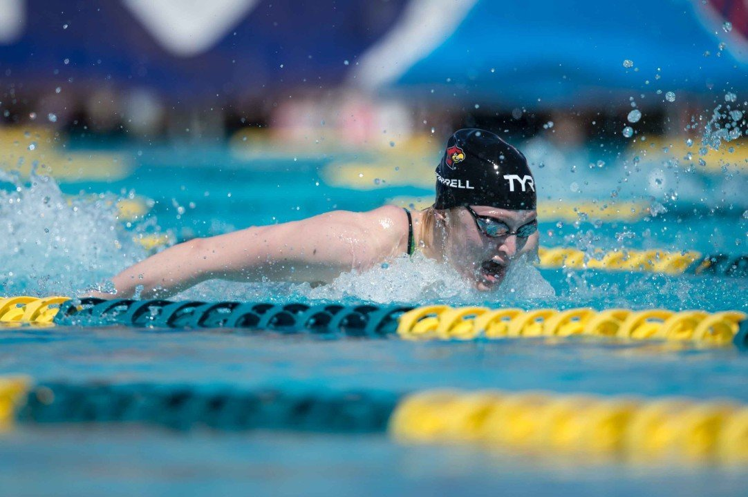 College Swimming Previews: Kelsi Worrell Keeps #6 Louisville Flying