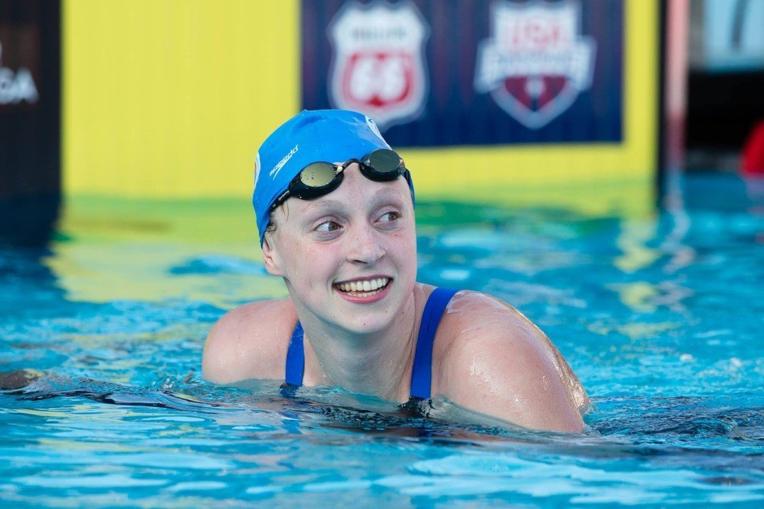 Katie Ledecky to defer enrollment at Stanford until fall of 2016