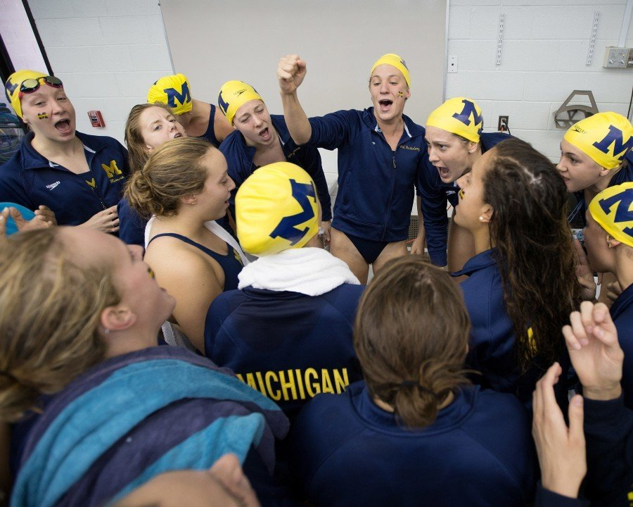 College Swimming Previews: #10 Michigan Seeks Back-To-Back B1G Titles