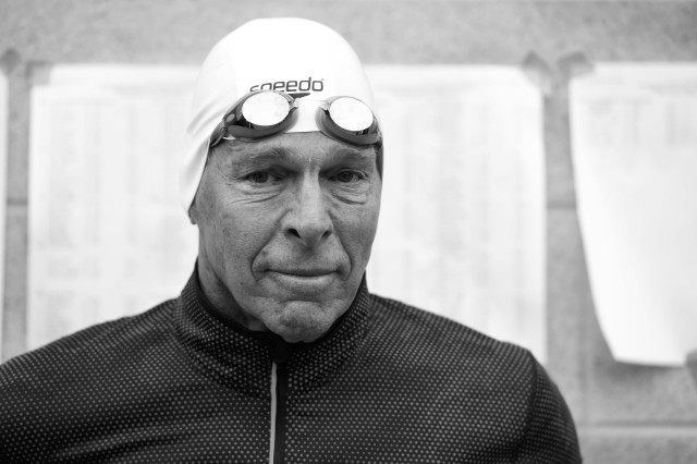 Masters world record holder Rich Abrahams, just turned 70, is off to crushing more national and world records (Photo: Mike Lewis - Courtesy of U.S. Masters Swimming)