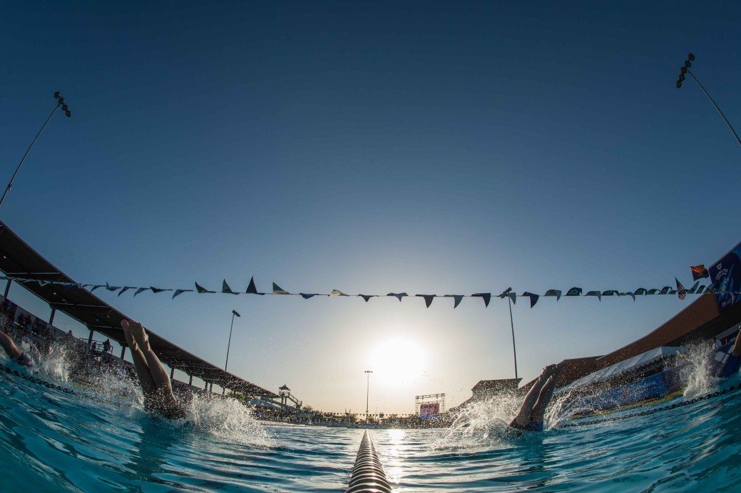 Gophers compete in CA, Gordon swims at International Merk Super Pokal
