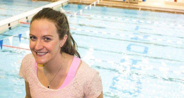 Former 200 Breaststroke World Record holder, Annamay Pierse
