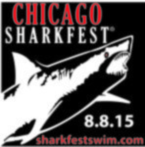 2015 Chicago Sharkfest, ad, logo, Graphic