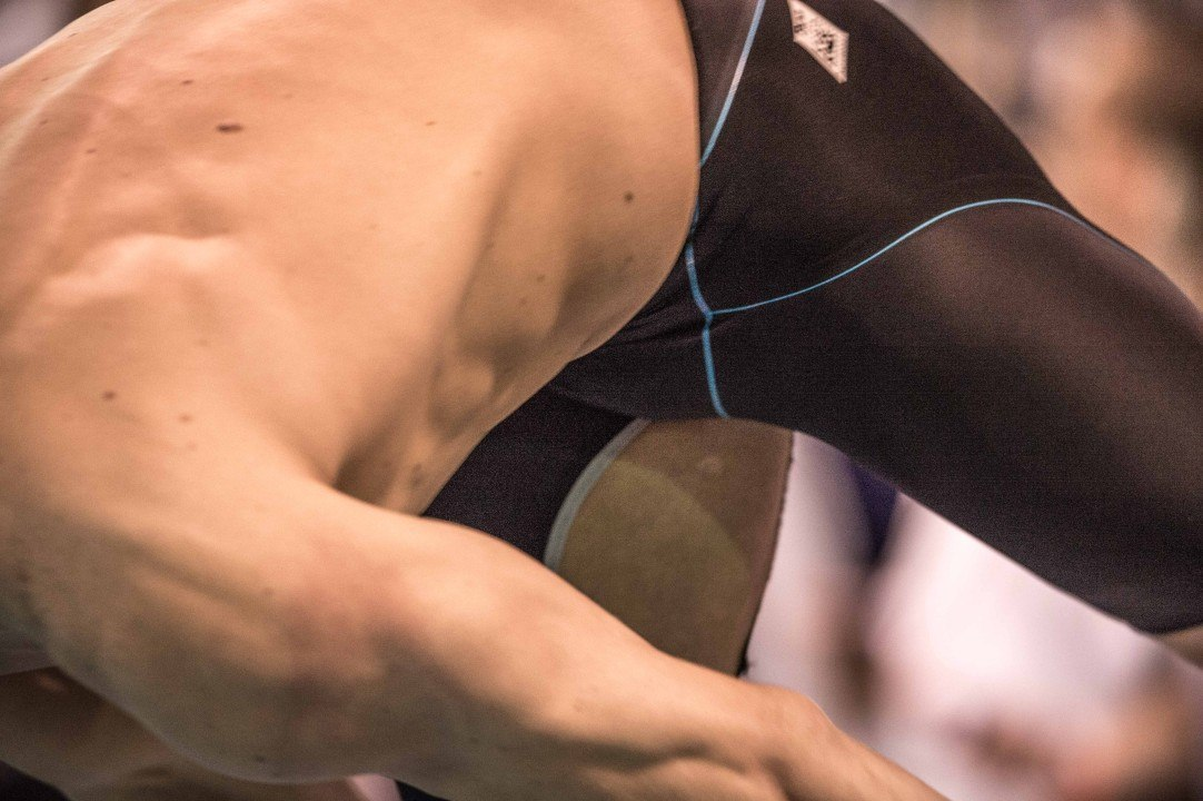 Cesar Cielo Wins Heat of 100 Fly With Tear in His Suit in Prelims of Arena Pro Swim Charlotte
