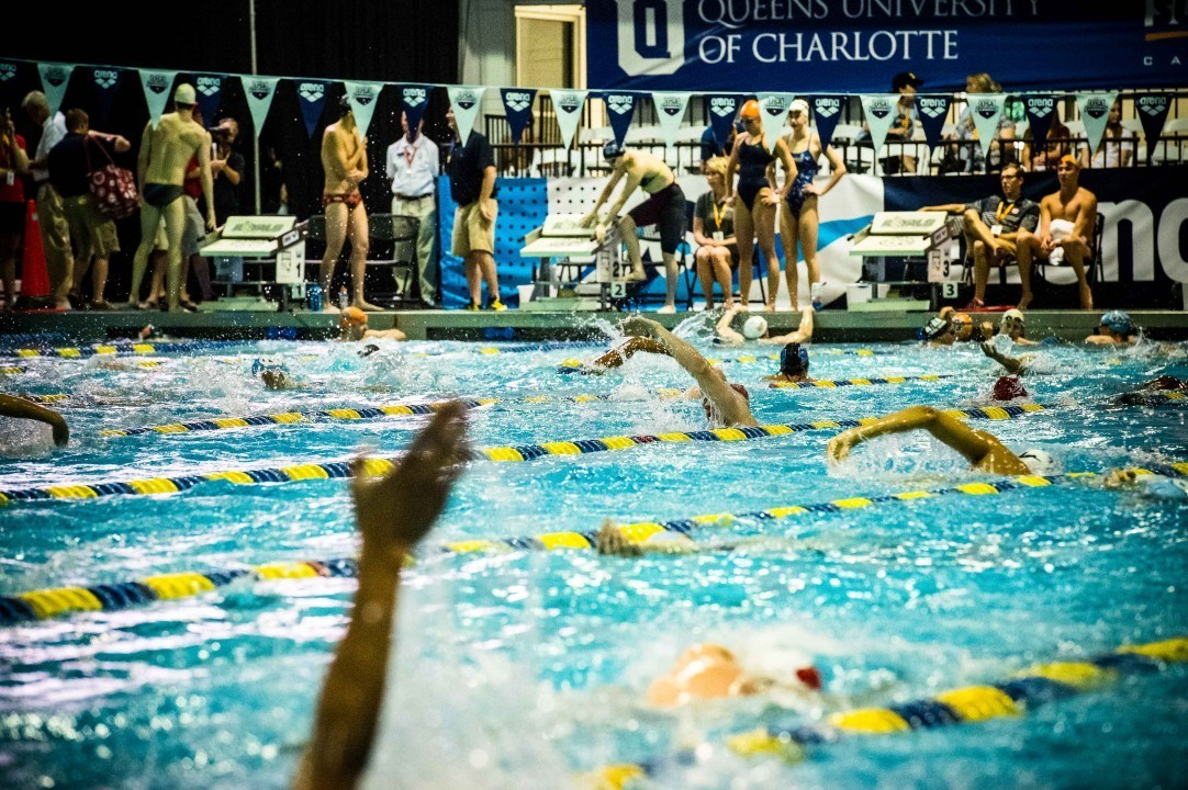 Aldan Johnston Ties National Age Group Record in 200 Free at NCSA Jrs