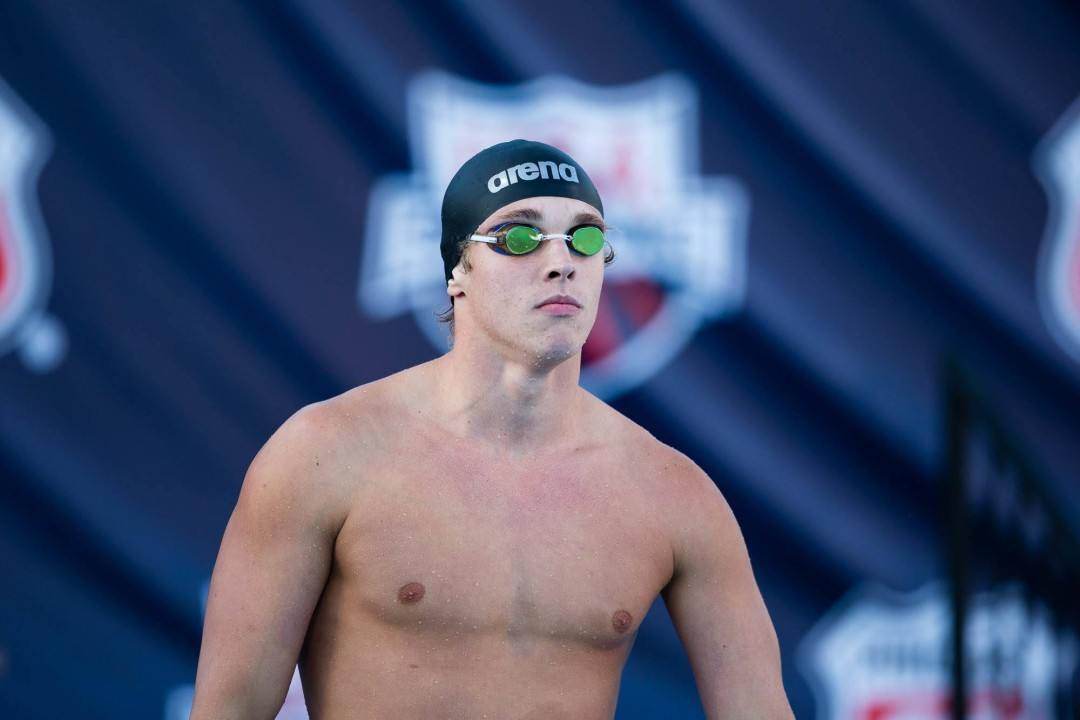 Condorelli Sweeps Sprints as USC Beats Arizona