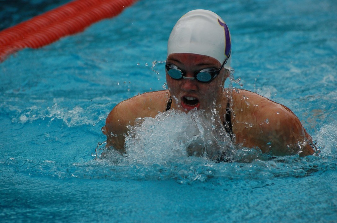 15-Year-Old Nikol Popov Breaks 100 Yard Breast NAG at CIFSS Division I Finals