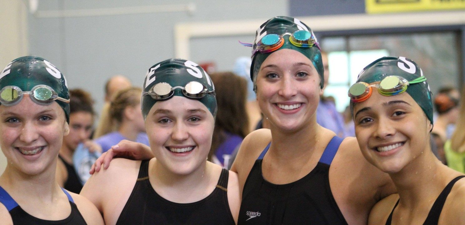 Caldwell and the Free State Swimmers Set Four Records at Kansas 6A State Championships