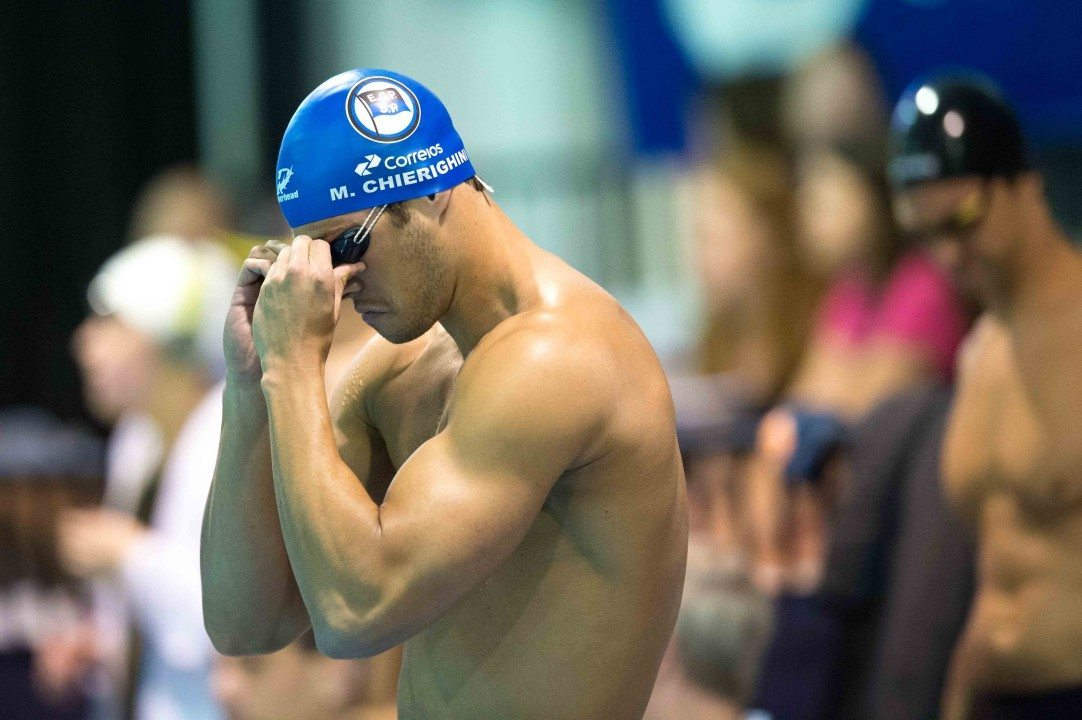Marcelo Chierighini drops 48.43 in 100 free to close Jose Finkel Trophy