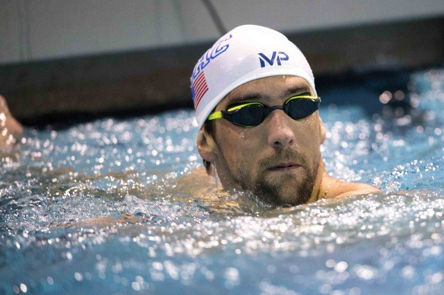 Michael Phelps Charlotte by Mike Lewis-3