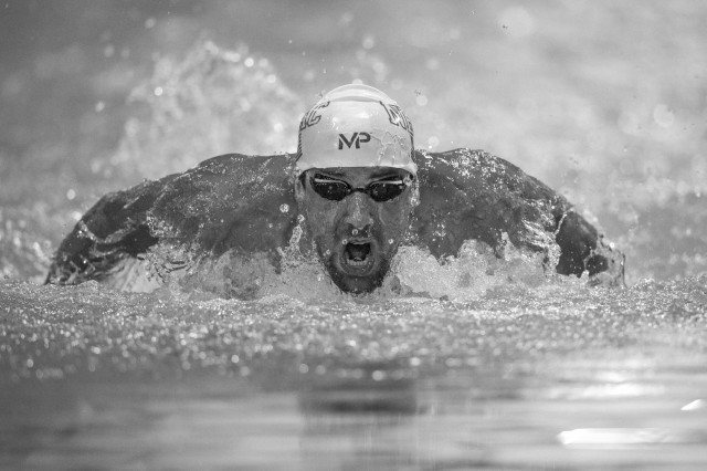 Michael Phelps Charlotte by Mike Lewis