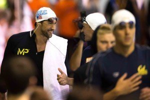 Michael Phelps Ryan Lochte by Mike Lewis