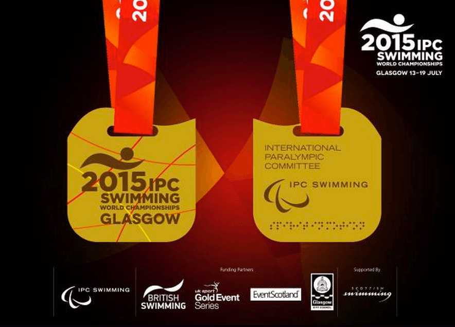 Medals Revealed For 2015 IPC World Championships In Glasgow