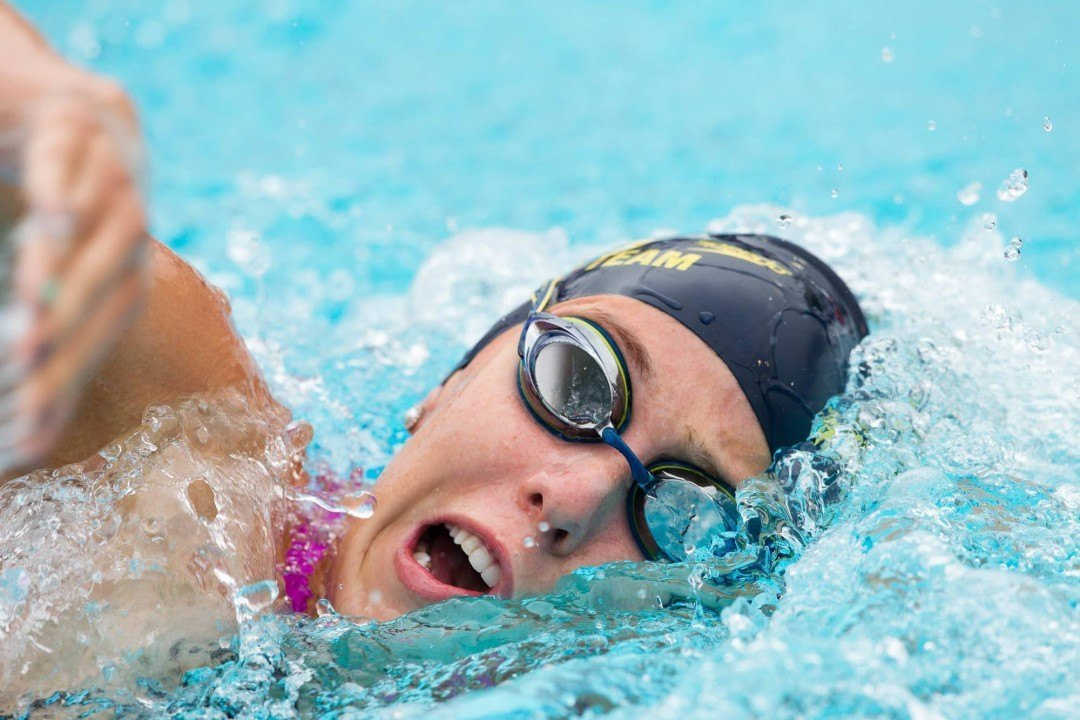 Abbey Weitzeil Breaks National High School Record in 50 Free at CIF-SS Division I Prelims