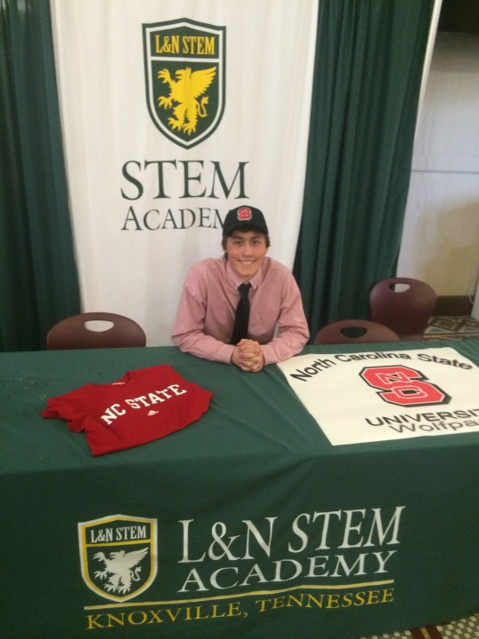 Fast-rising butterflyer James Bretscher joins NC State Wolfpack