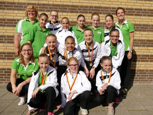 ZPCH's Synchronised Swimmers Win Gold and Two Silver Medals in Zoetermeer