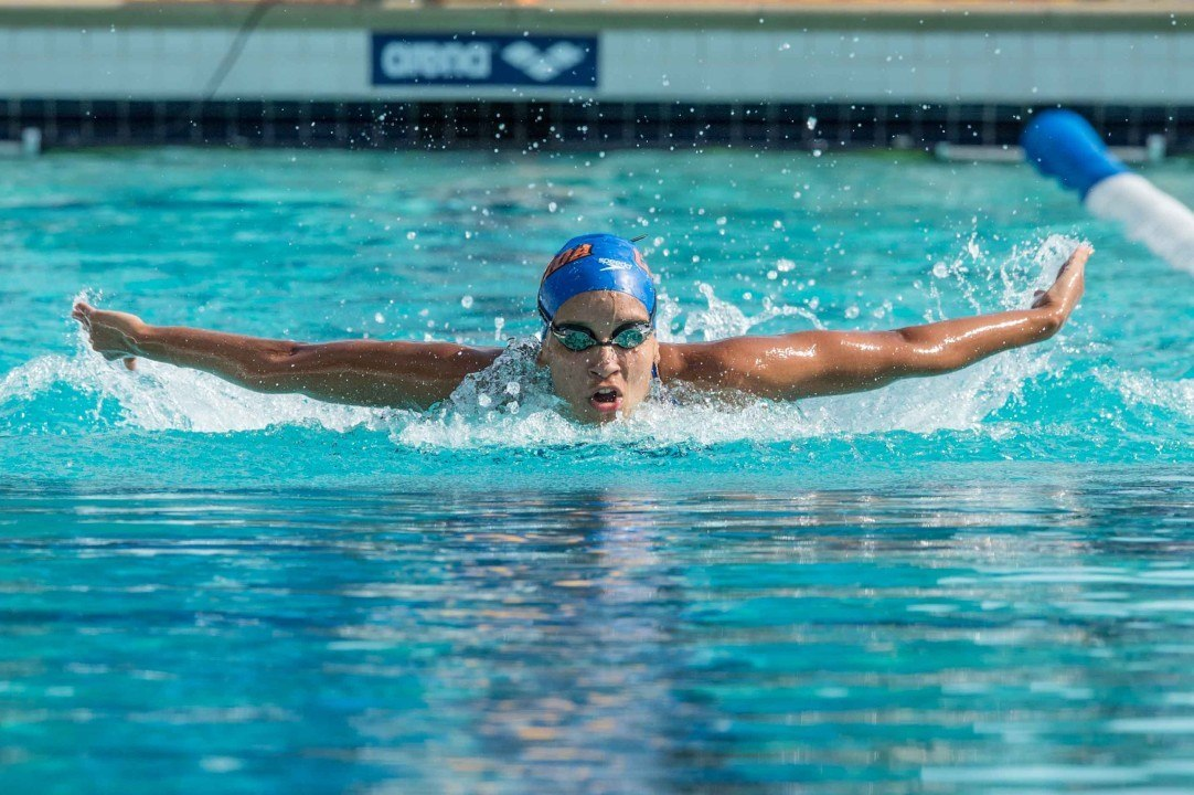 Pinto Nearly Clocks Lifetime Best In 200 Fly At South American C'ships