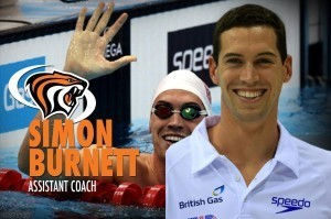 Simon Burnett, University of Pacific, Pacific Tigers, assistant coach (courtesy of the Pacific Tigers Swimming Staff)
