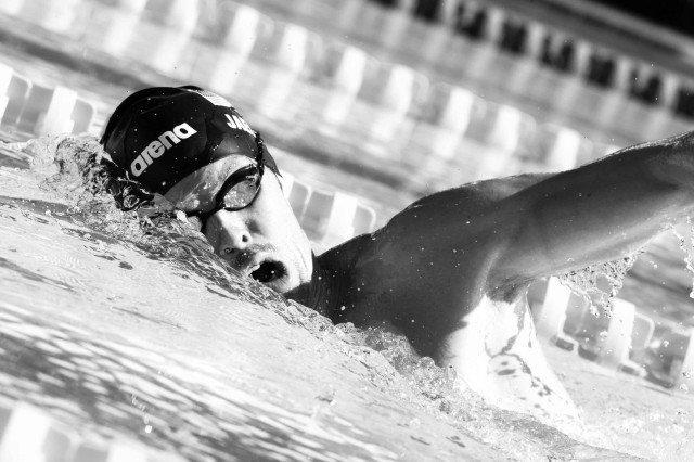 Connor Jaeger Santa Clara Pro Swim 2015 (photo: Mike Lewis, Ola Vista Photography)