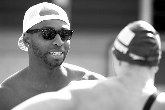 Cullen Jones 2015 Santa Clara Pro Swim (photo: Mike Lewis, Ola Vista Photography)