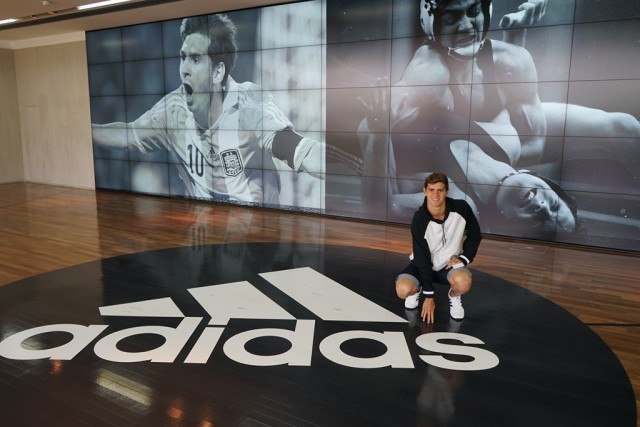 Michael Andrews - Adidas HQ (courtesy of Team Andrew)