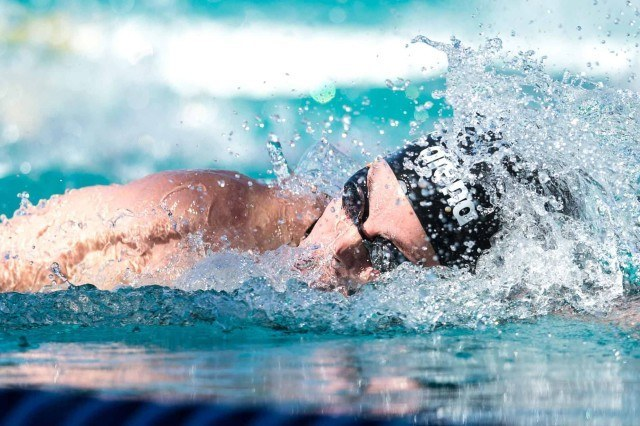Femke Heemskerk wins the 200 free in Santa Clara (photo: Mike Lewis, Ola Vista Photography)