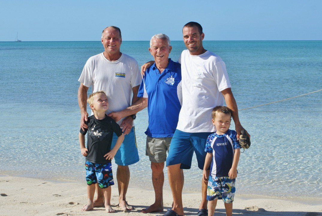 Bahamian Olympic Family To Form Four Generation Relay Team