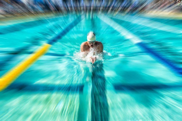 Gunnar Bentz prelims 200 IM Santa Clara pro swim 2015 (photo: Mike Lewis, Ola Vista Photography)