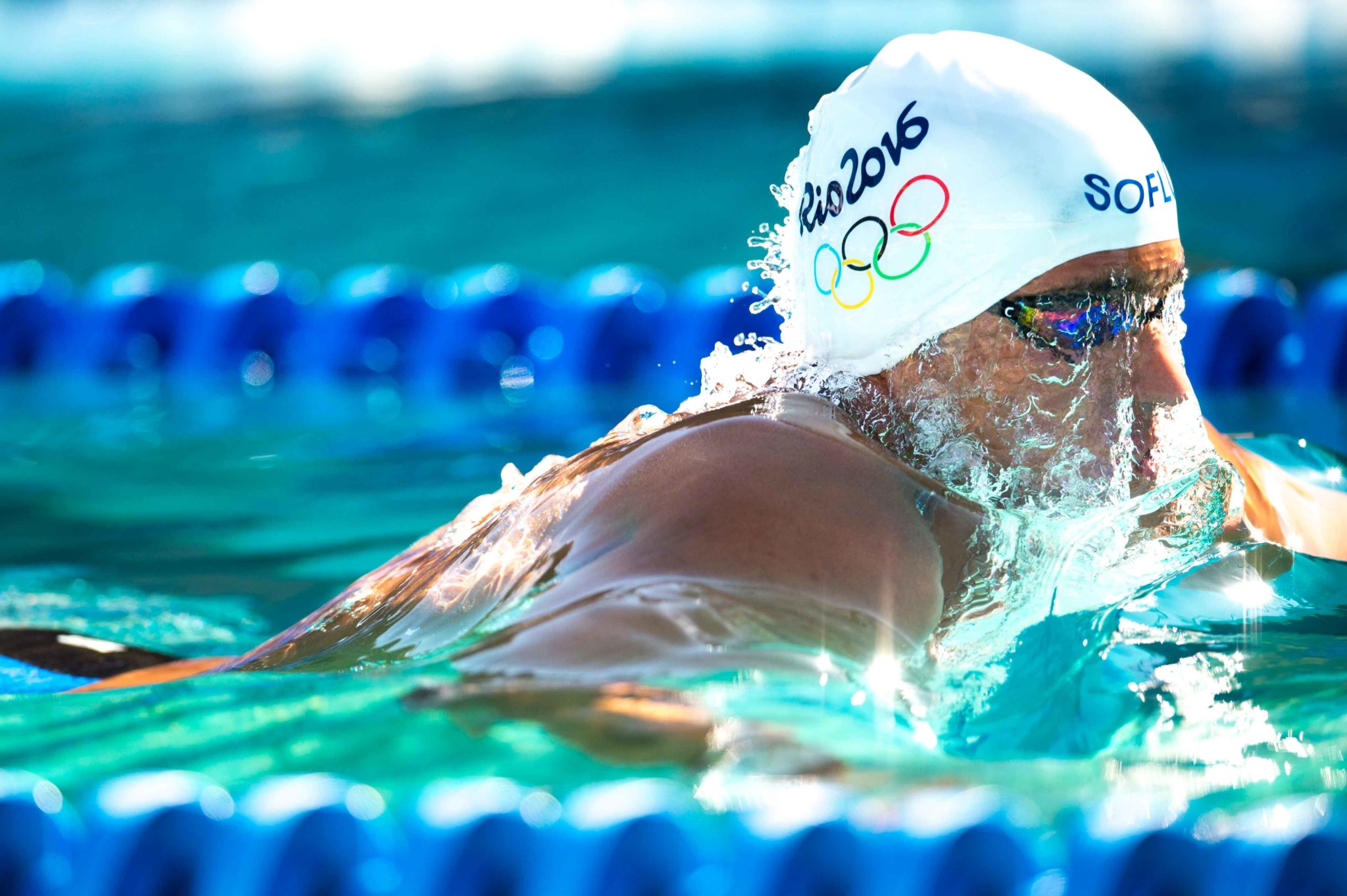 olympic swimming lane assignments