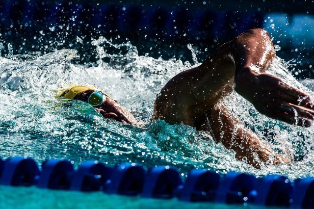 Josh Prenot in the final of the 200IM (photo: Mike Lewis, Ola Vista Photography)