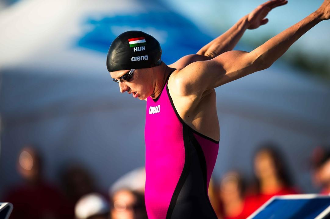 Katinka Hosszu Breaks 400 IM U.S. Open Record, Now Holds Both U.S. Open Marks in the IM