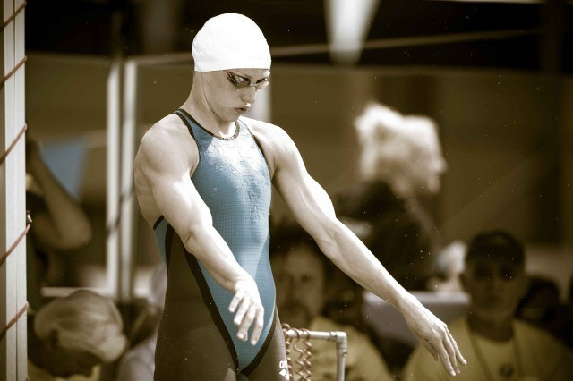 Katinka Hosszu in the 200 fly final (photo: Mike Lewis, Ola Vista Photography)
