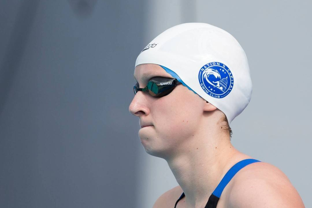 Katie Ledecky Swims 8:16 800 Meter Free at Indiana Senior Circuit Meet