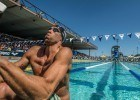 Matt Grevers in the prelims of the 200 backstroke Santa Clara Pro Swim (photo: Mike Lewis, Ola Vista Photography)