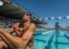 Matt Grevers in the prelims of the 200 backstroke Santa Clara Pro Swim (photo: Mike Lewis, Ola Vista Photography)