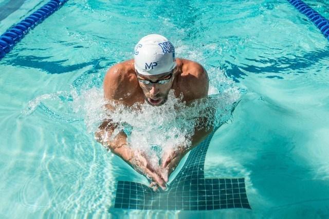 Michael Phelps prelims 200IM prelims 2015 Santa Clara Pro Swim (photo: Mike Lewis, Ola Vista Photography)