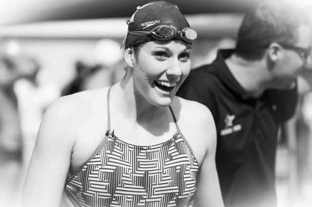Missy Franklin Todd Schmitz by Mike Lewis