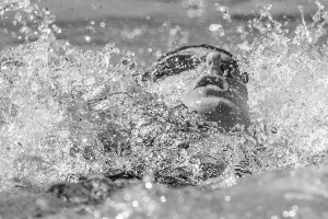 Missy Franklin 200 backstroke prelims 2015 Santa Clara Pro Swim (photo: Mike Lewis, Ola Vista Photography)