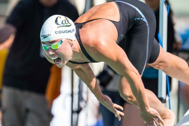 Natalie Coughlin 2015 Santa Clara Pro Swim (photo: Mike Lewis, Ola Vista Photography)